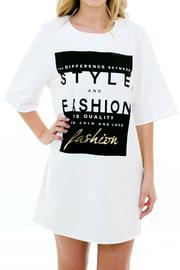 Karlie Hipster T-Shirt Dress - Product Mini Image