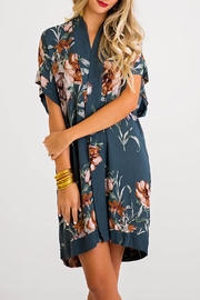 Karlie Floral Kimono Dress - Product Mini Image