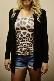 Karlie Leopard Seamless Tank - Front full body