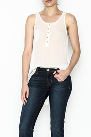 Karlie Lurex Pocket Tank - Front cropped