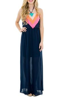 Shoptiques Product: Over-The-Rainbow Maxi-Dress