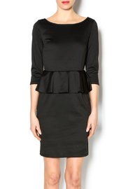 Karlie Ponte Poplin Dress - Product Mini Image