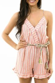 Karlie Tie Back Romper - Product Mini Image