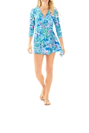 Lilly Pulitzer Karlie Wrap Romper - Back cropped
