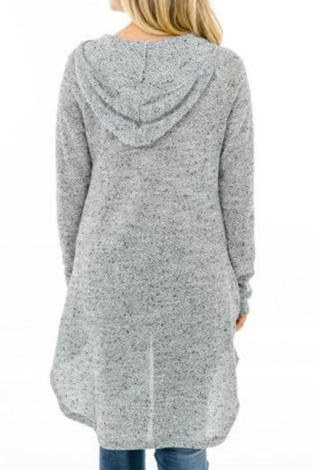 12113f93bec1 Karlie Clothes Hooded Wrap Sweater from Georgia by Mint Boutique ...