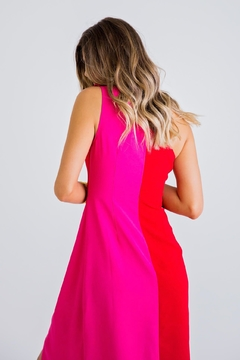 Karlie Clothes Pink And Coral Maxi Dress - Product List Image