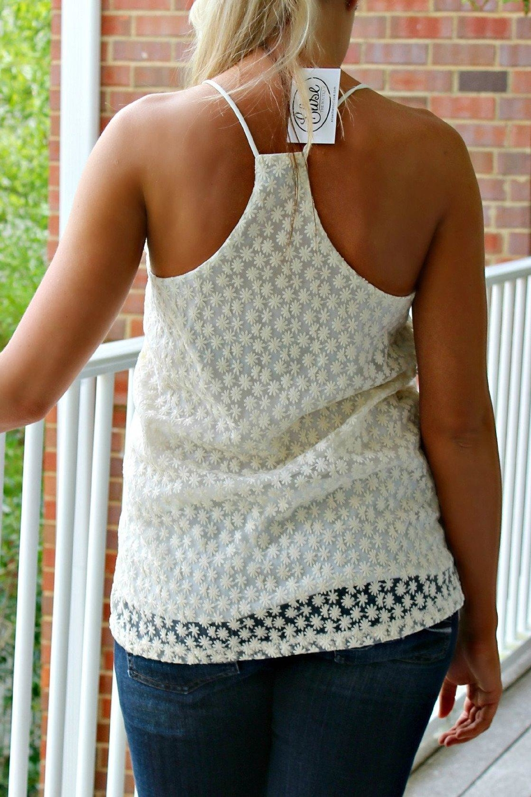 Karlie Clothes Tiny Lace Tank - Front Full Image