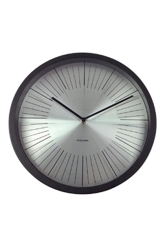 Shoptiques Product: Floating Lines Clock