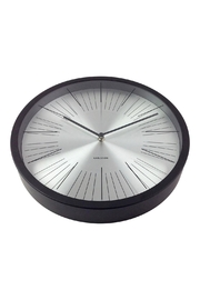 Karlsson Floating Lines Clock - Front full body