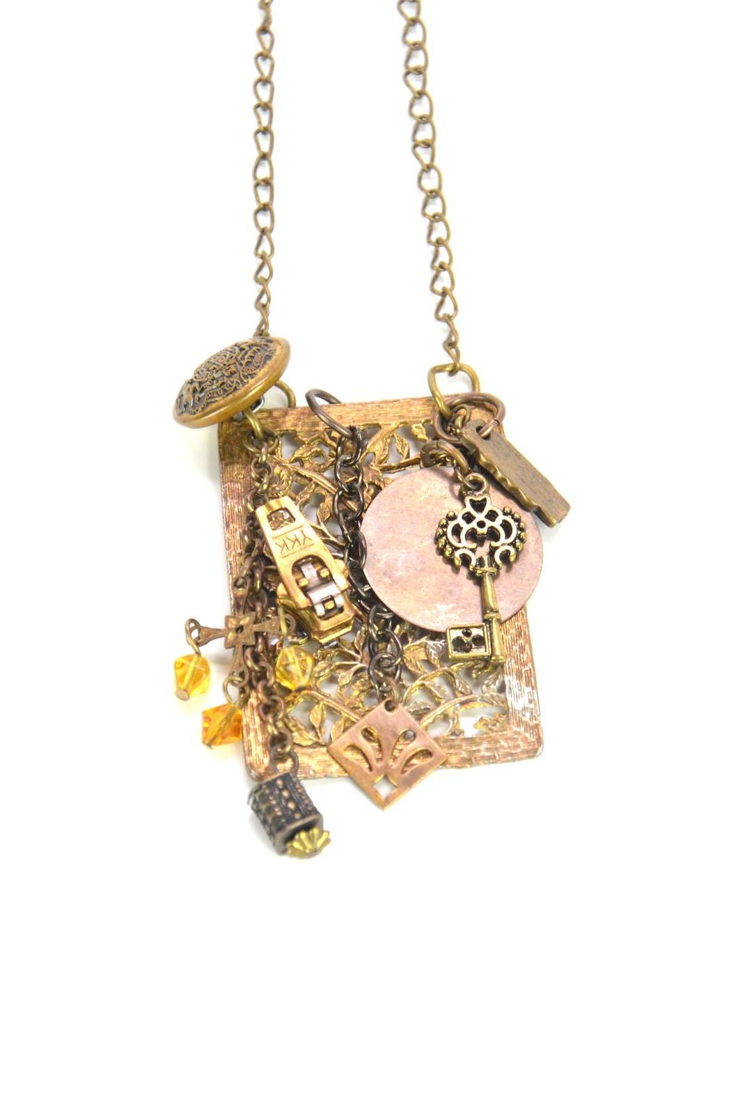 karma and coconuts charm necklace from naples shoptiques