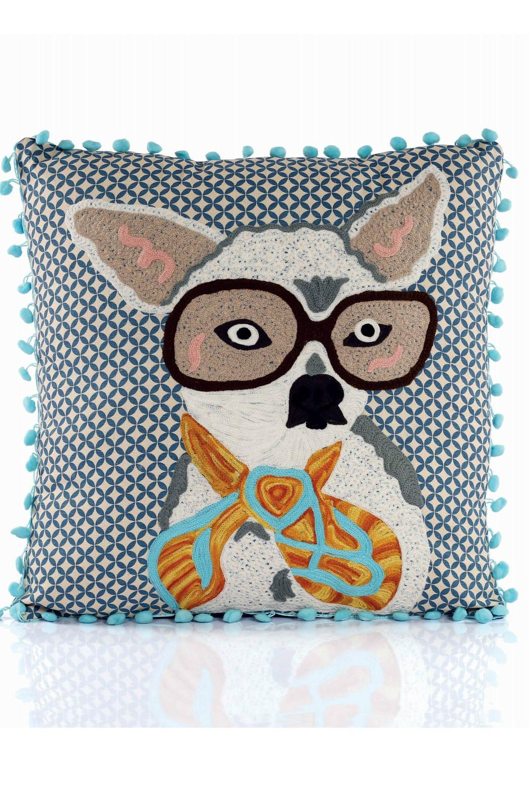 Karma Living Chihuahua Pompom Pillow from Maryland by ...