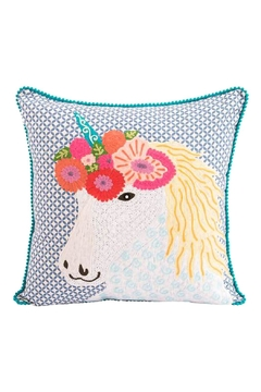 Karma Living Unicorn Pillow - Alternate List Image