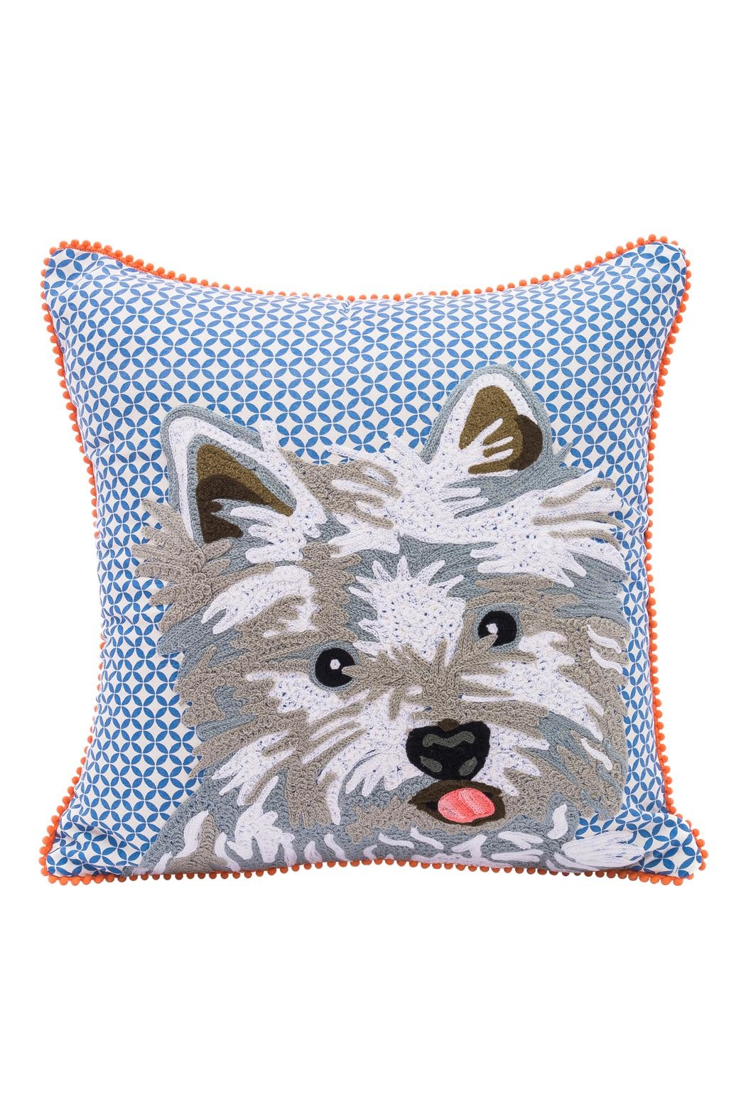 Karma Living Westie Pillow - Main Image