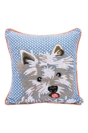 Karma Living Westie Pillow - Front cropped