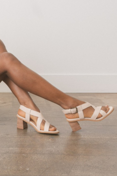 Oasis Society Karter Strappy Heeled Sandal - Product List Image