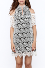 KAS New York Semi Lined Lace Dress - Side cropped