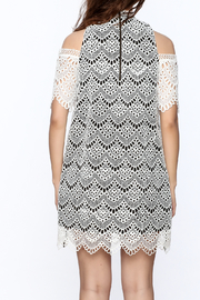 KAS New York Semi Lined Lace Dress - Back cropped