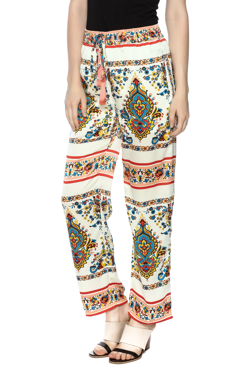 KAS New York Print Drawstring Pant - Main Image