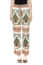 KAS New York Print Drawstring Pant - Side cropped