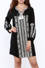 KAS New York Trudy Embroidered Dress - Front cropped