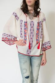 Kas Pisco Peasant Top - Product Mini Image