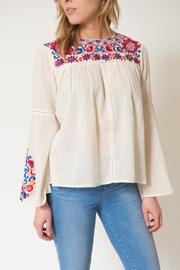 Kas Rose Embroidered Top - Product Mini Image