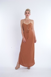 Kasha Rust Maxi Dress - Product Mini Image