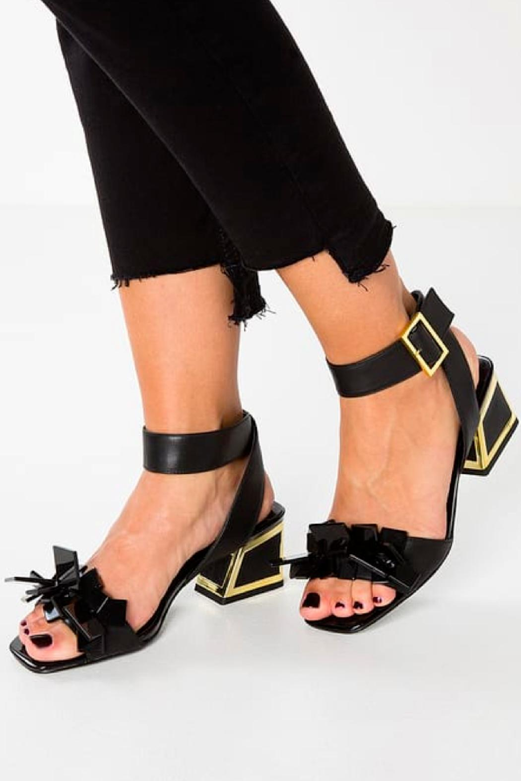 Kat Maconie Beaded Gina Sandal - Front Cropped Image