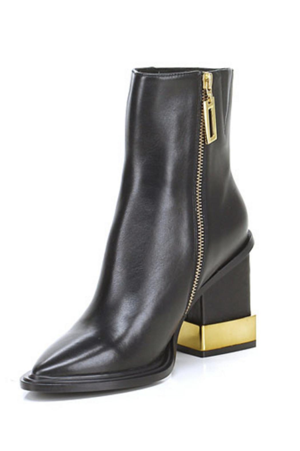 Kat Maconie Gold-Dipped Paloma Boot - Front Full Image