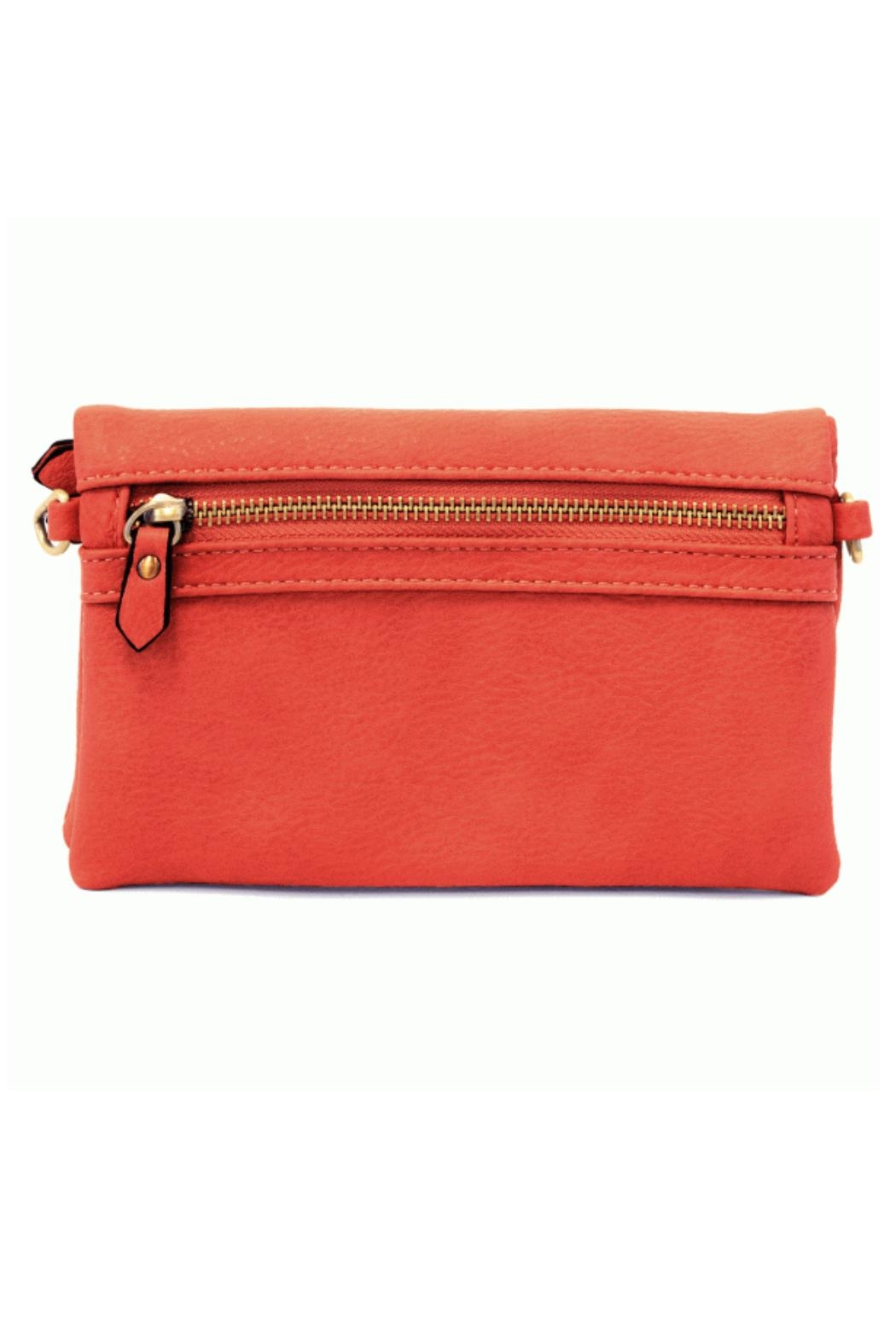 Joy Accessories Kate Crossbody - Geranium - Side Cropped Image