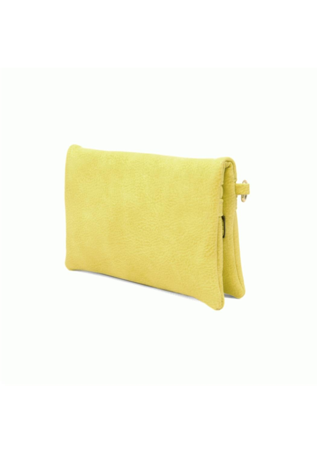 Joy Accessories Kate Crossbody - Lime - Back Cropped Image