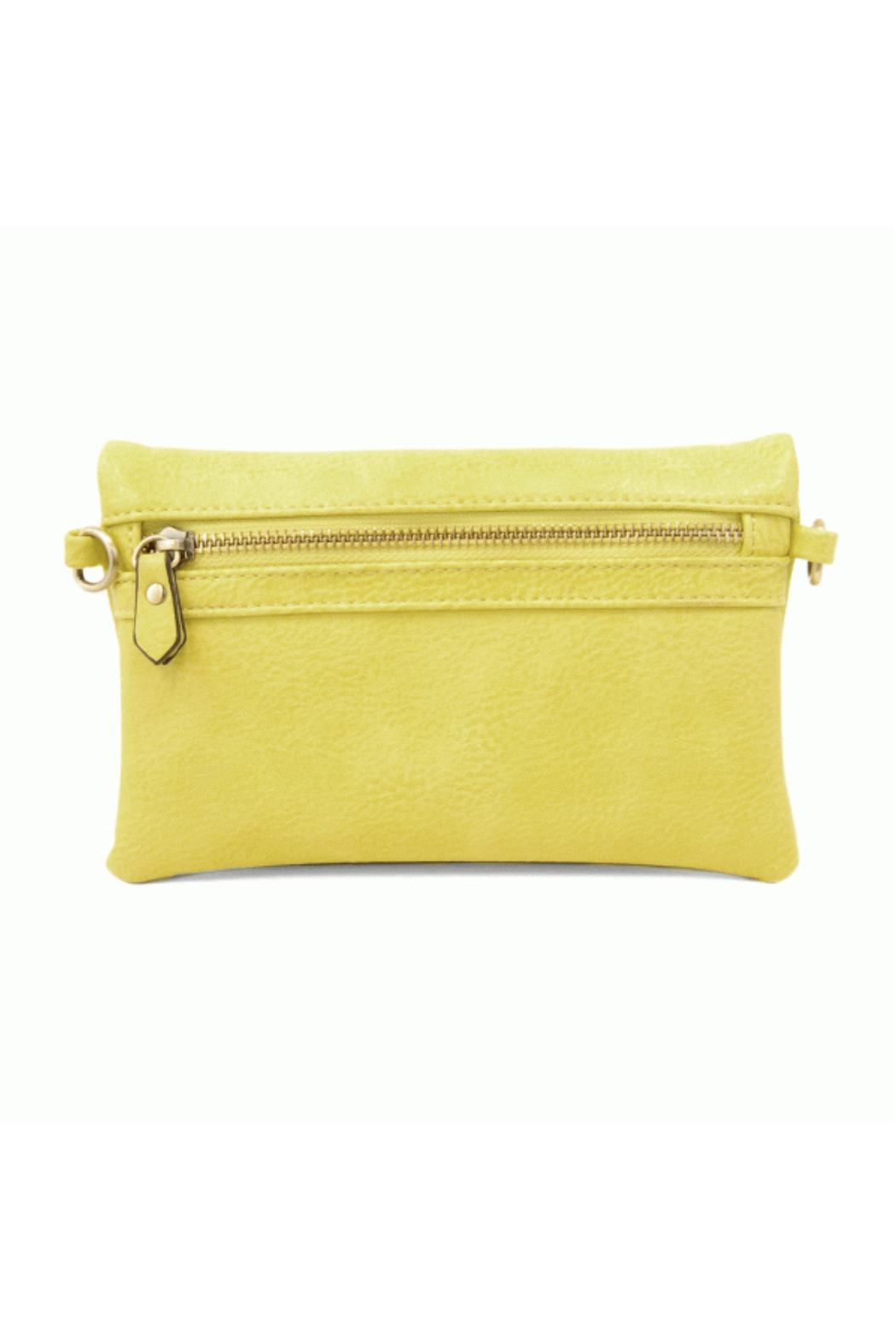 Joy Accessories Kate Crossbody - Lime - Side Cropped Image