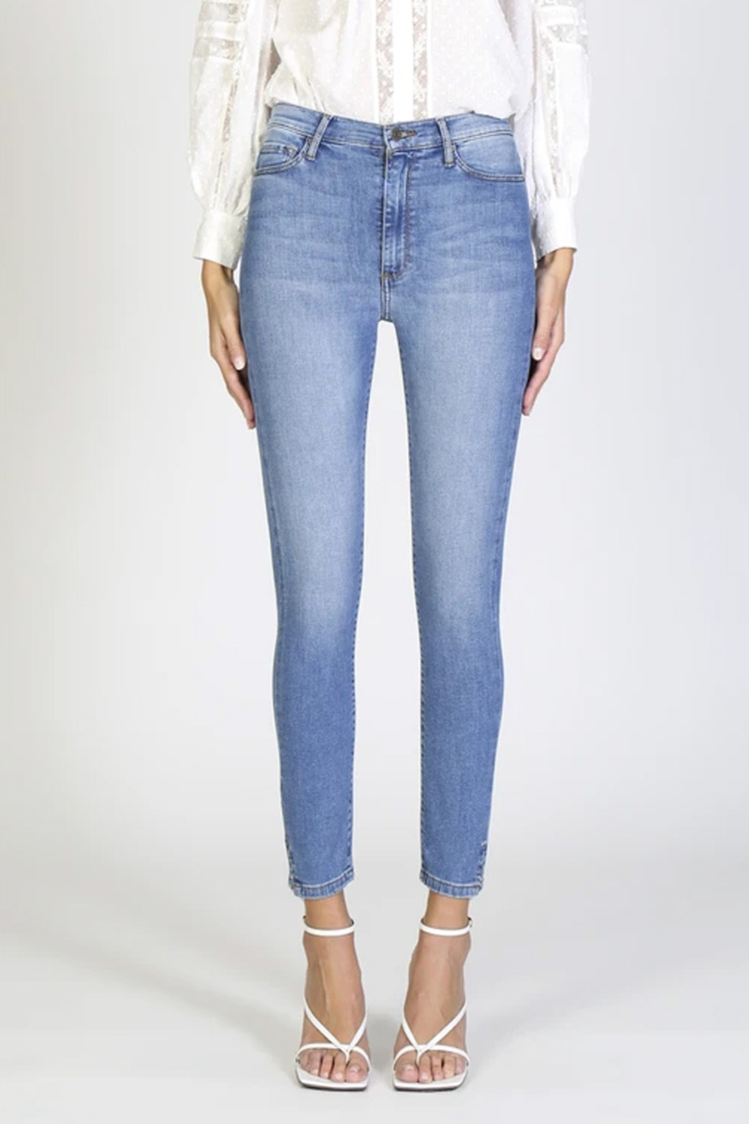 Black Orchid Kate Super High Rise Skinny Jean - Front Full Image