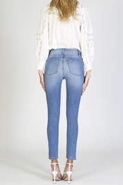 Black Orchid Kate Super High Rise Skinny Jean - Back cropped