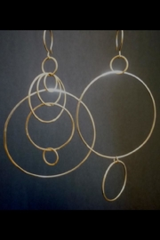 Kate Jack Jewelry Off Million Hoop Earrings - Product Mini Image