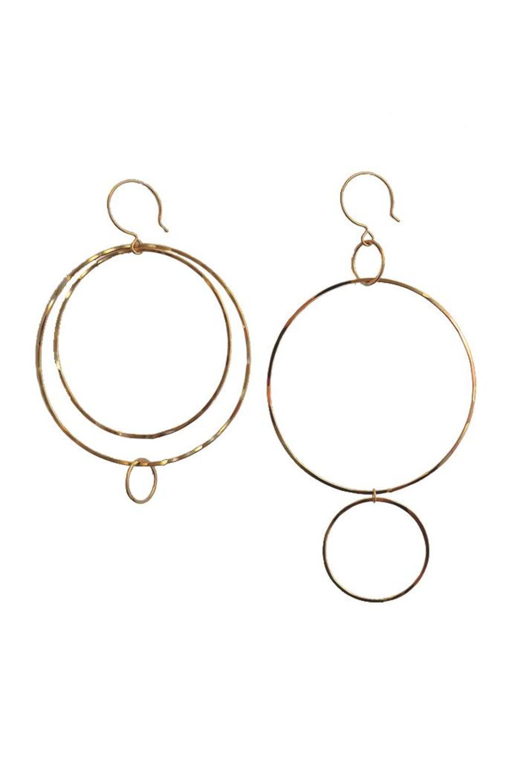 Kate Jack Jewelry Off Million Hoop Earrings - Main Image