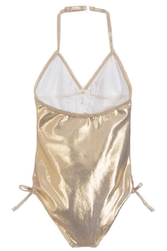 Kate Mack Gold Metallic Swimsuit - Alternate List Image