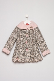 Kate Mack Leopard Dress Coat - Product Mini Image