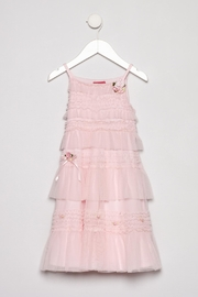 Kate Mack Rose Ruffle Dress - Product Mini Image