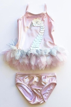 Shoptiques Product: Shimmering Swan Swimsuit