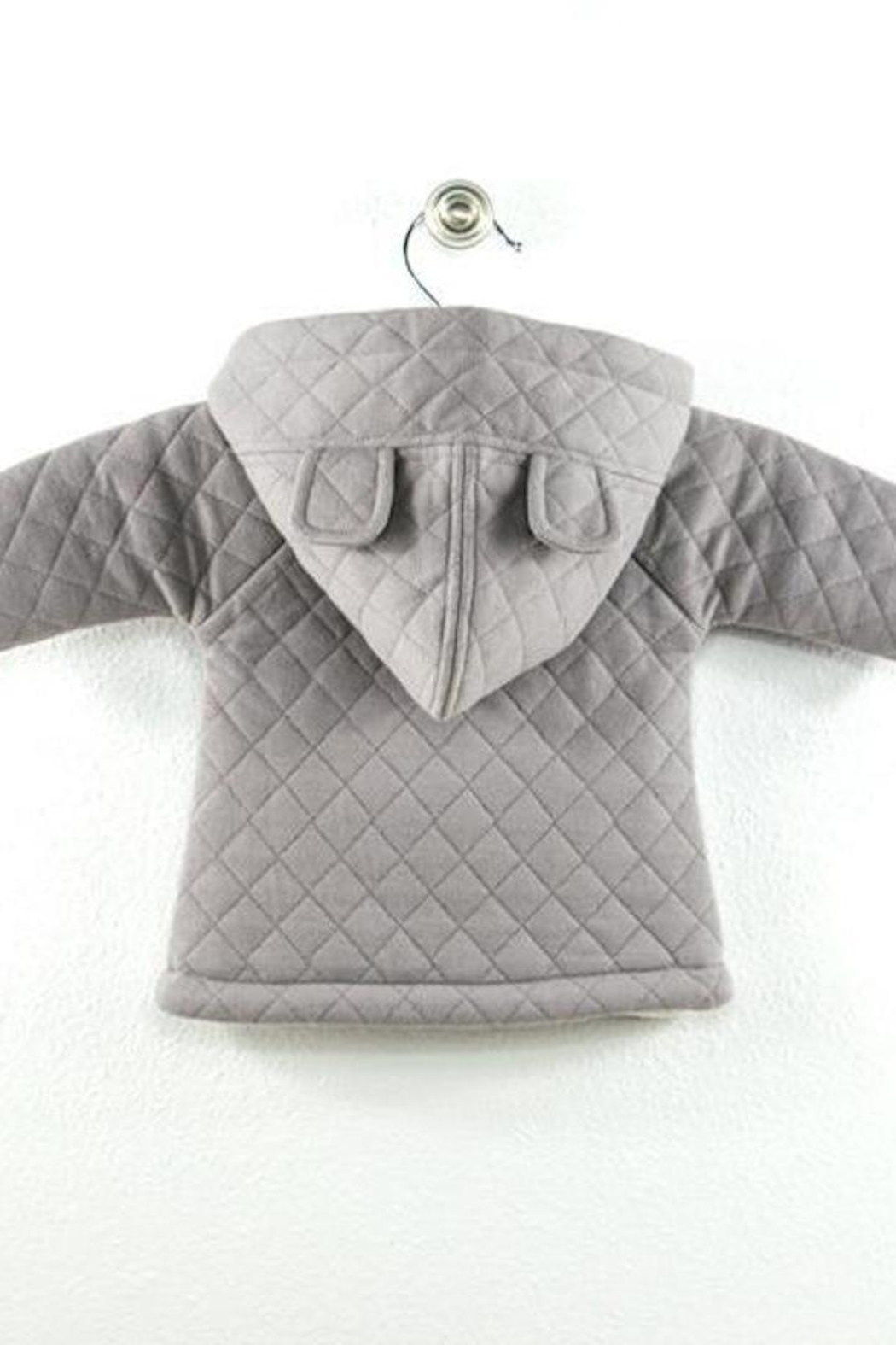 Kate Quinn Organics Bear Hooded Jacket - Side Cropped Image