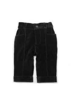 Shoptiques Product: Velvet Pintuck Pants