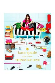 Kate Spade, New York Things We Love Book - Front cropped