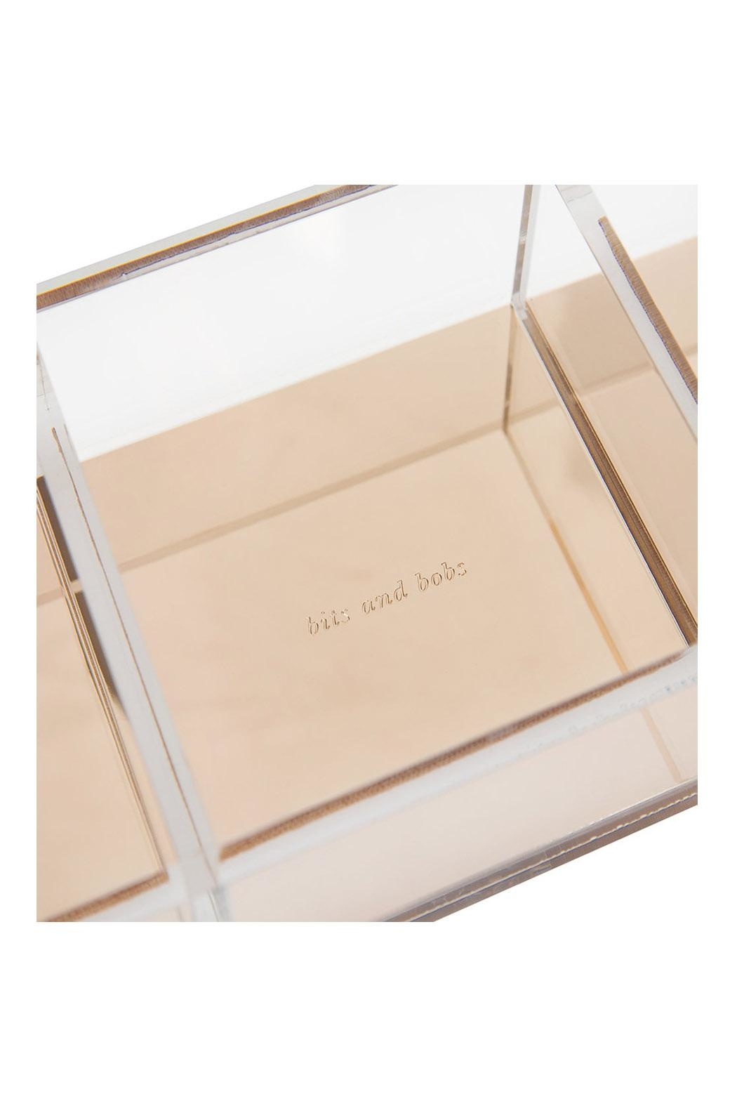 Kate Spade New York Acrylic Note Holder - Front Full Image