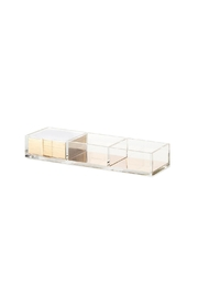 Kate Spade New York Acrylic Note Holder - Front cropped