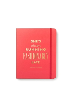 Kate Spade New York Coral 2018 Agenda - Product List Image