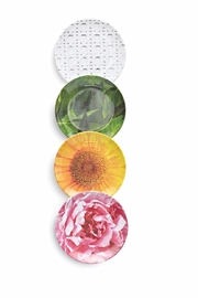 Kate Spade New York Floral Coaster Set - Front cropped