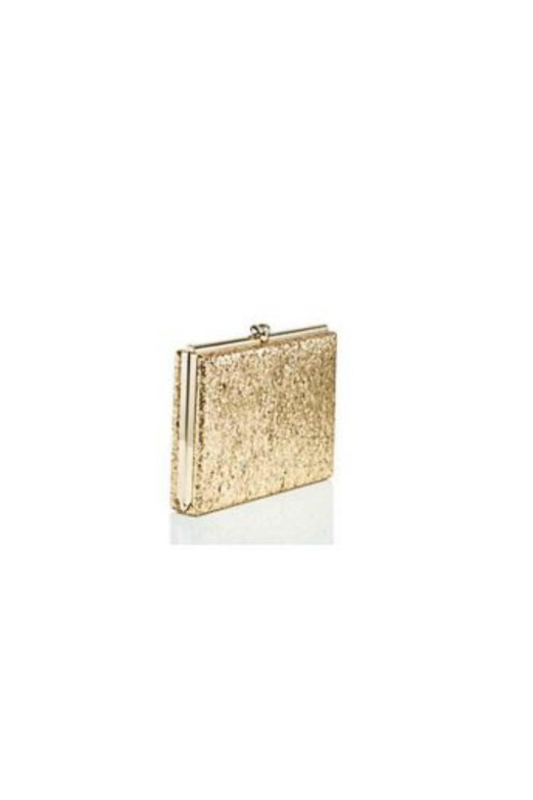 Kate Spade New York Gold Knot Clutch - Side Cropped Image