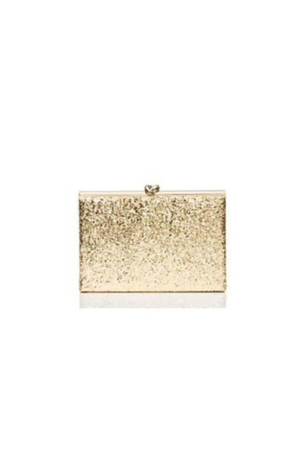 Kate Spade New York Gold Knot Clutch - Main Image