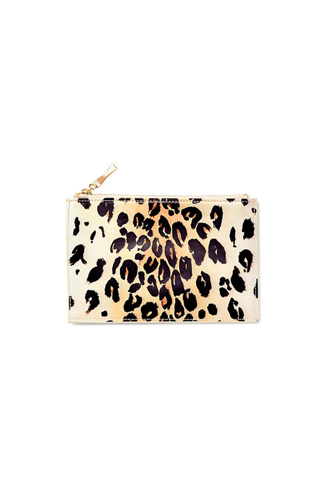 Kate Spade New York Leopard Pencil Pouch - Main Image